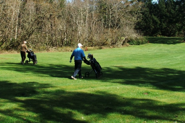 Surfside Golf Cource - Ocean Park WA
